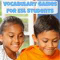 These vocabulary games for ESL students provide a fun way to practice target vocabulary words. Some games are best for individual students, some games are collaborative, and some games are competitive. Regardless, your students are sure to have fun and be engaged while playing these vocabulary games!