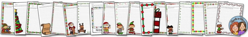 Free Christmas Writing Prompts