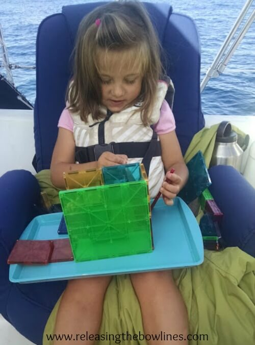 """Teaching and learning while on the move can be a real challenge. If you and your family have chosen a life of constant movement, whether that be traveling the country by RV or sailing up and down a coast by sailboat, then you still need to squeeze in time for teaching and learning with your children. This seasoned """"boat mom"""" shares her tips for educating while on the move."""