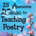 Poetry ideas