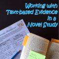 Text-based evidence is a hot term in the education world today, and it's for good reason. Finding text-based evidence to back up their answers and findings is an important skill for students to learn, as it truly enhances their reading comprehension. Our guest blogger shares her tips for utilizing text-based evidence in the middle school classroom, where the teacher is more likely to be teaching a novel study. Click through to read the full post!