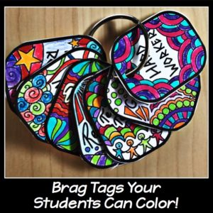 Brag Tags Your Students Can Color: Everything You Need to Know