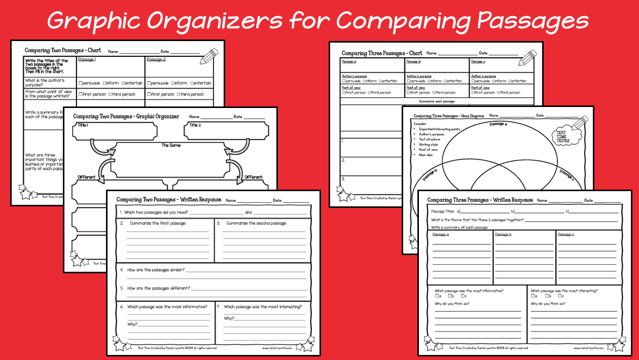 Paired passages are a truly effective tool for helping students improve their reading skills and comprehend a given topic. Rachel Lynette's Paired Passages Plus resource includes three reading passages on the same topic with text-dependent questions to encourage students to dig deeper. Click through to learn more about this English language arts resource!