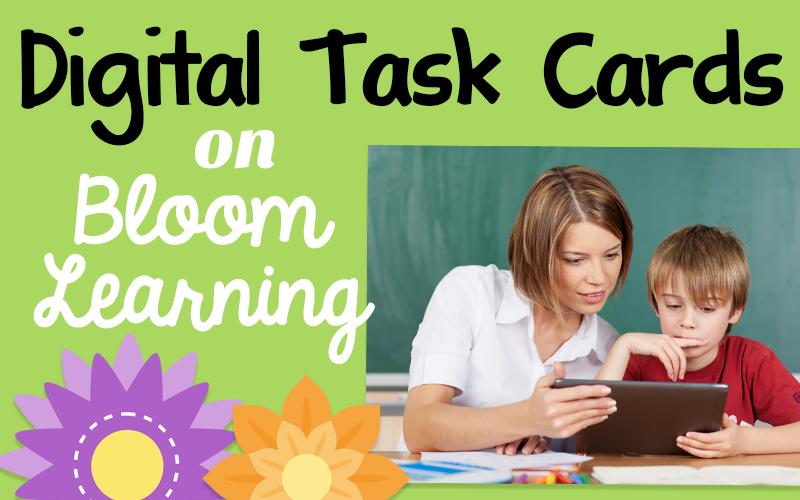 Digital Task Cards on Bloom Learning