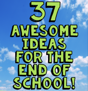 It's that time again - the end of the school year! I've come up with a list of 37 end of the year activities that you can use in your own classroom to make those last days of school special and fun for you and your students. Click through to read all of the ideas - lots of links are included to more resources!
