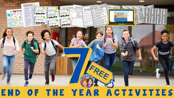 Free End of the Year Activities