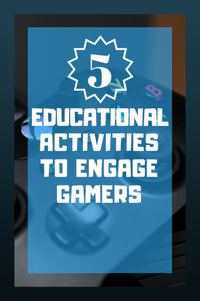 Here's an idea you may not have considered before: Try adding academics to video games! As teachers, we often encourage students to find other hobbies and topics of discussion besides video games, but as our guest blogger points out, there are a number of ways to add academics to video games. Click through to read more about her ideas and insight for activities based on video games!
