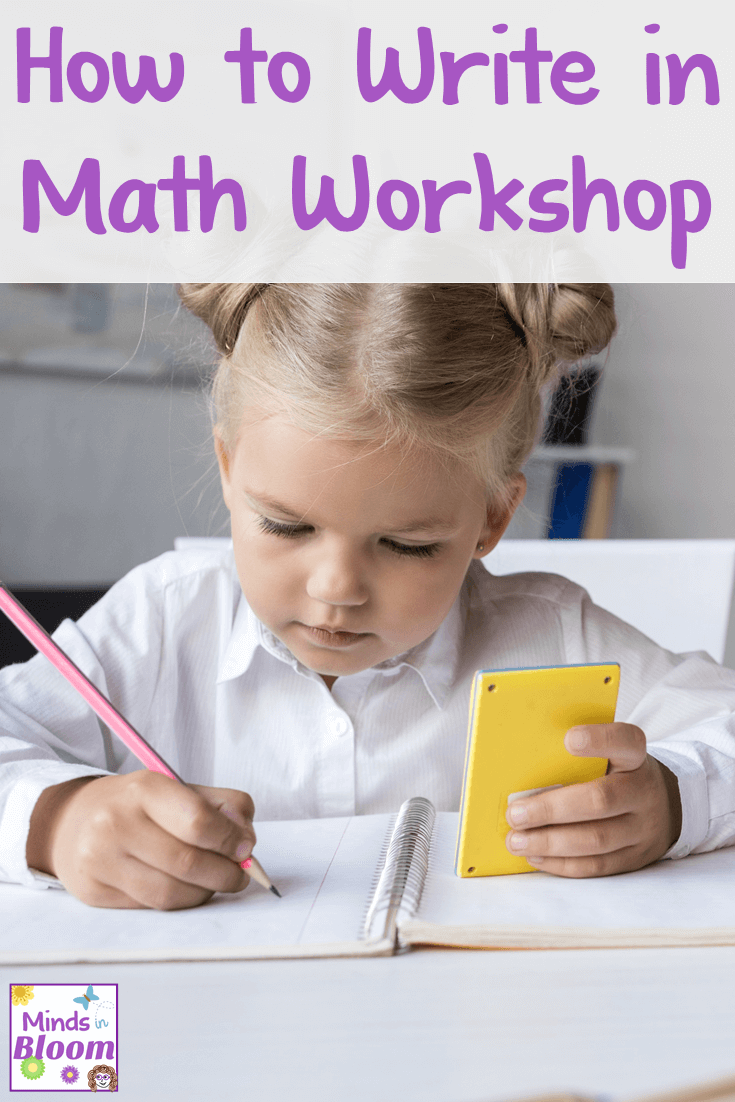 Teaching students how to write in math workshop often ends up as an afterthought, but it's extremely important! Elementary students need to learn how to explain their thinking in solving math problems and their use of math strategies. This guest post shares tips on modeling, teacher guidance, and independent practice for teaching writing in math, so click through to read it!