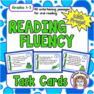 Primary teachers never stop working on reading fluency skills, even in the middle of winter! Our guest blogger wrote a fantastic post about how she uses Rachel Lynette's reading fluency task cards in her 2nd grade classroom. Click through to get all of her tips for encouraging fluency fun for students!