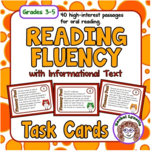 Reading teachers never stop working on reading fluency skills, even in the middle of winter! Our guest blogger wrote a fantastic post about how she uses Rachel Lynette's reading fluency task cards in her 2nd grade classroom. Click through to get all of her tips for encouraging fluency fun for students!