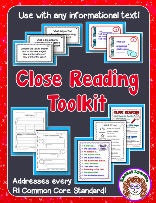 Close Reading Toolkit | Minds In Bloom