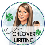 This is a store logo for Lucky Chlover Writing.