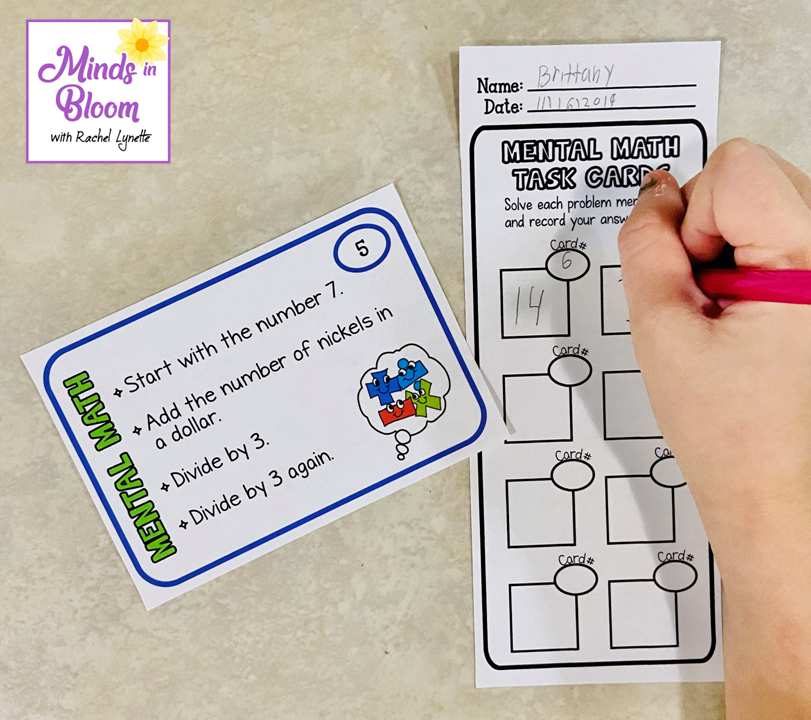Students can practice on their own or in pairs.