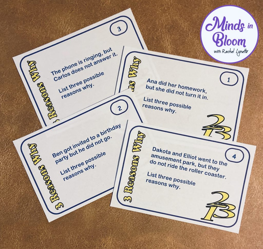 For lateral thinking practice, critical thinking task cards are great in the elementary classroom.