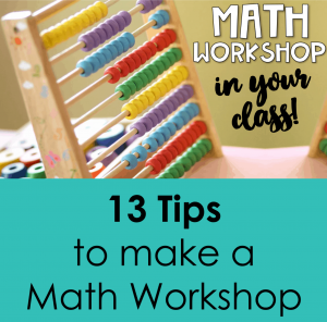 Math workshop tips