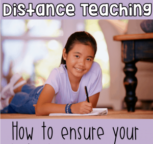 Distance learning: how to ensure your students are learning even when school is closed