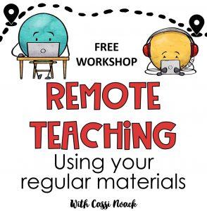 Remote Learning Free Workshop