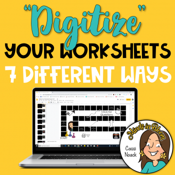 Digitize Your Worksheets