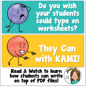 Using the Kami Extension with your PDF files