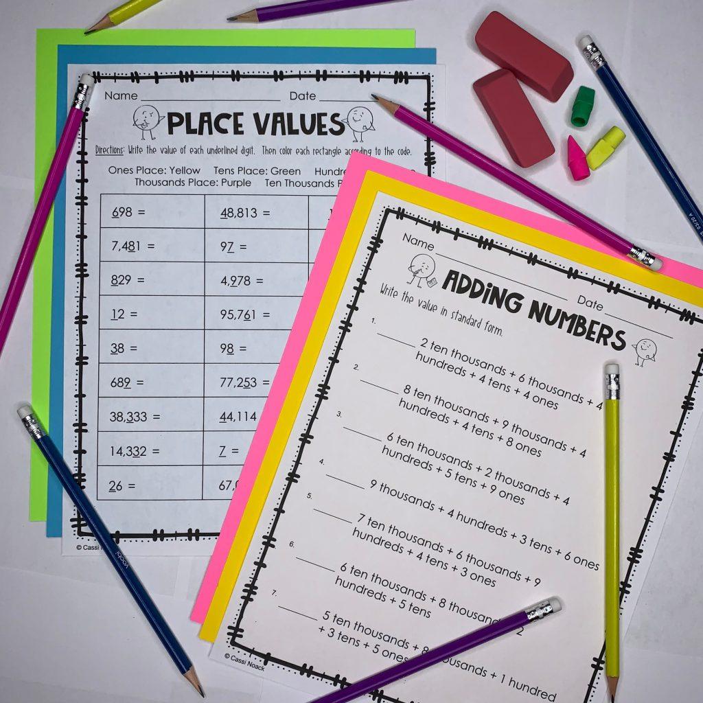 math workshop kits