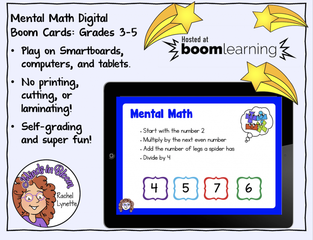Mental Math Boom Cards