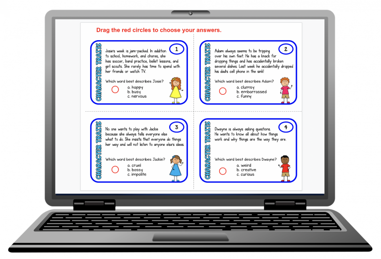 Make task cards into google slides for distance learning