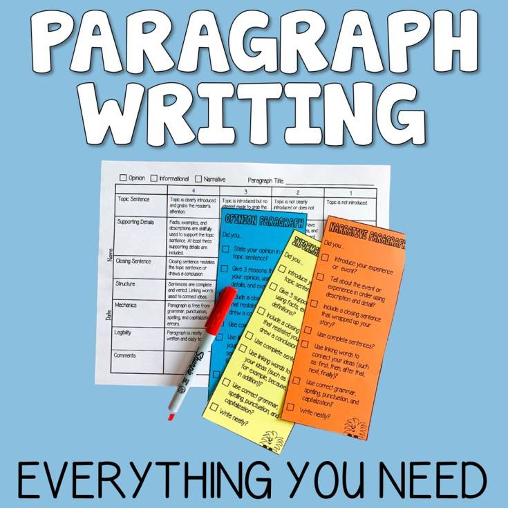Everything You Need for Paragraph Writing