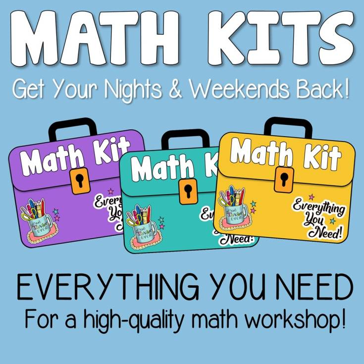 Check Out Our Math Workshop Math Kits