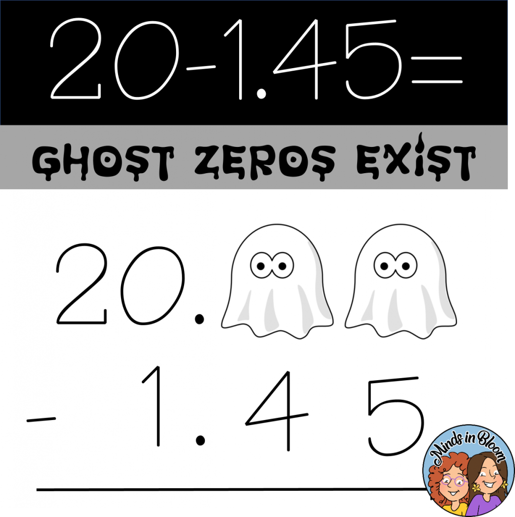 Ghost zeros and ghost decimals