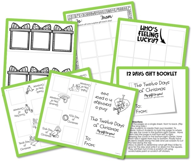 Free Holiday Scratch-Offs For Your Students