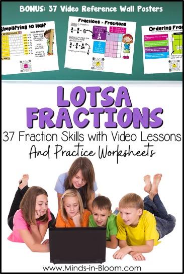 Lotsa Fractions Resource