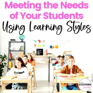 Learning Styles in the Classroom