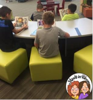 Flexible Seating in Reader's Workshop