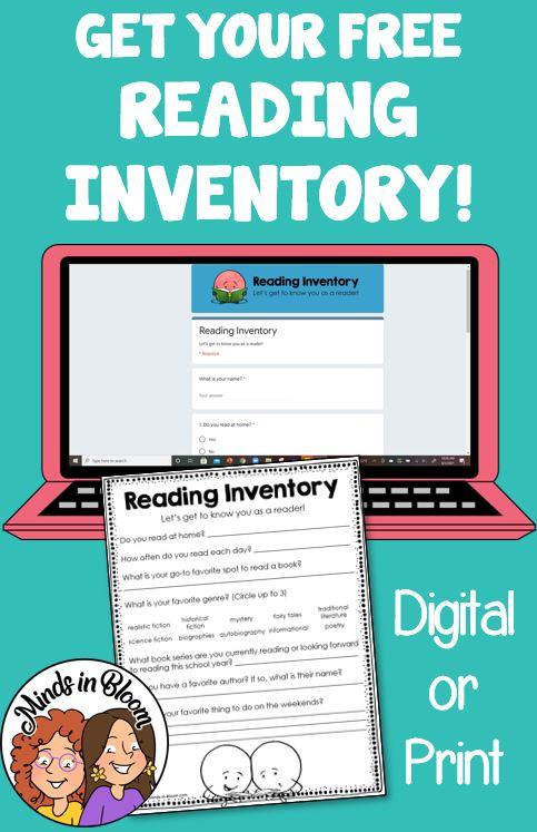 Reader's Workshop Reading Inventory