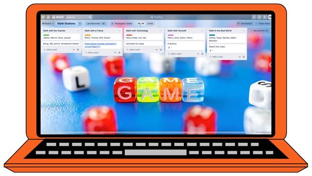 Organize Math Groups with a Trello Board