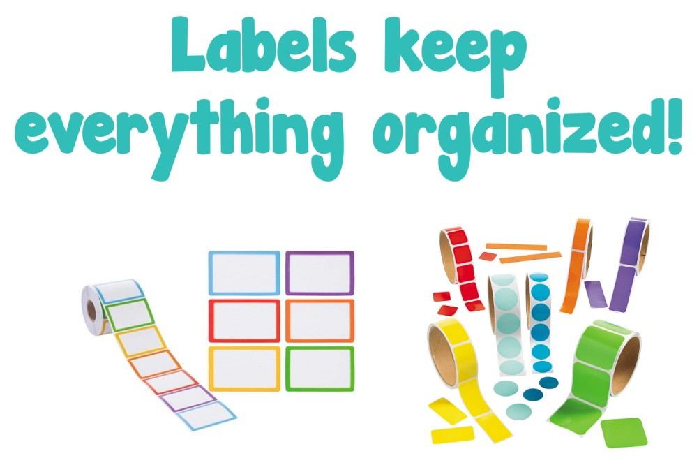 Organizing classroom Materials