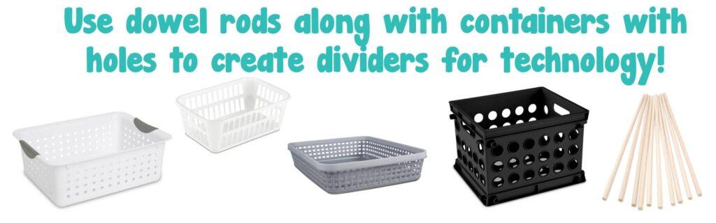 Organzing ipads and classroom technology
