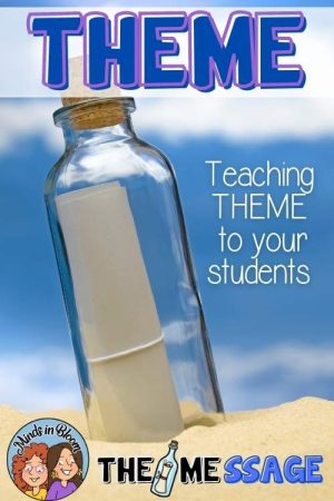 teaching theme worksheets and activities